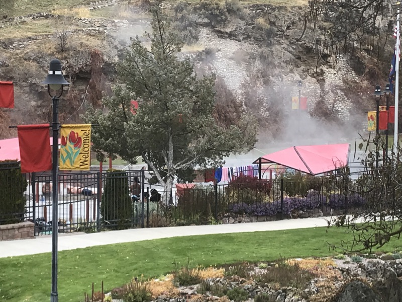 Don't go to Lava Hot Springs on the weekend