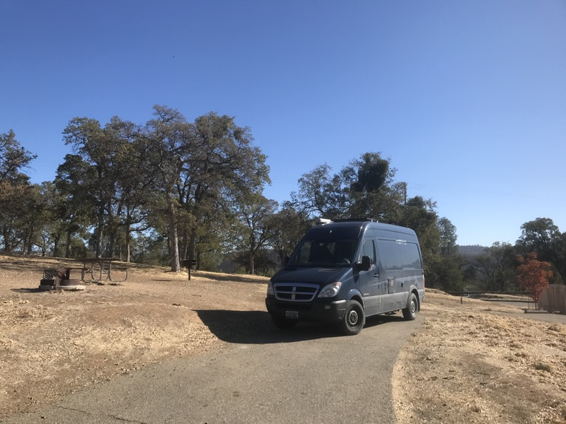 Up 395 and over Yosemite to Family Time